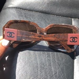 Chanel sun glasses! 🥰